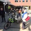 de Groene Ridder lancering brochure en fietstaxi 2018-02-28